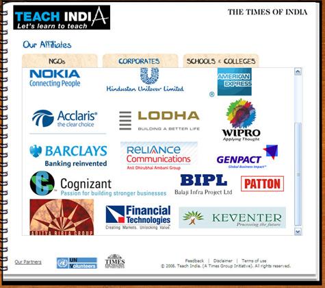 Teach india corporate