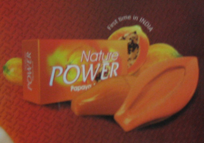 Power papaya soap